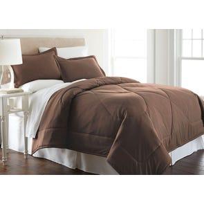 Shavel Micro Flannel® Chocolate Comforter Set