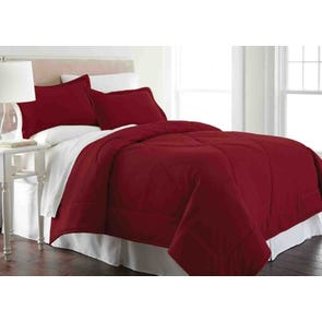 Shavel Micro Flannel® Comforter with Shams in Wine