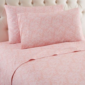 Shavel Micro Flannel® Enchantment Rose Sheet Set