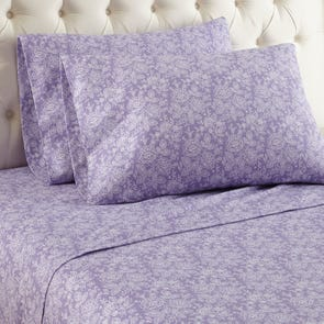Shavel Micro Flannel® Queen Sheet Set - Enchantment Violet