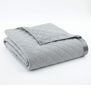 Shavel Micro Flannel® Greystone Quilted Blanket