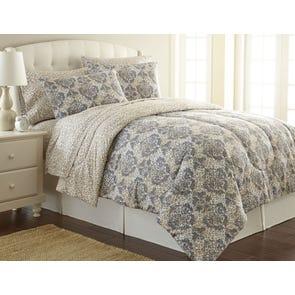 Shavel Micro Flannel® Leopard Damask Comforter Set