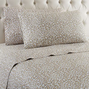 Shavel Micro Flannel® Leopard Sheet Set