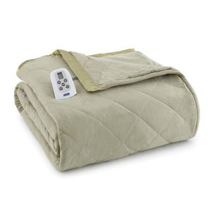 Shavel Micro Flannel® Meadow Electric Heated Blanket