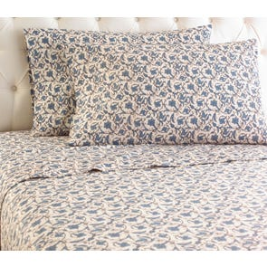 Shavel Jacobean Printed Micro Flannel® Sheet Set