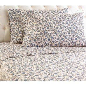 Shavel Jacobean Printed Micro Flannel® Sheet Set