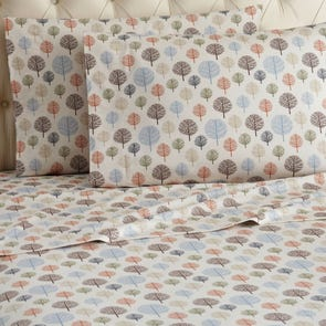 Shavel Trees Printed Micro Flannel® Sheet Set