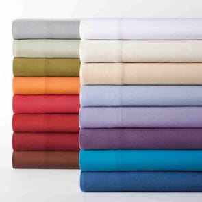 Shavel Micro Flannel® Solid Color Full Sheet Set