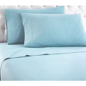 Shavel Micro Flannel® Spa Blue Sheet Set