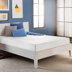 Full Simmons 8 Inch Foam Mattress