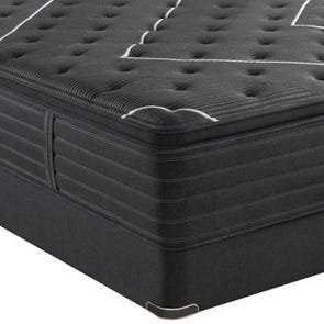 King Simmons Beautyrest Black C Class Plush Pillow Top Mattress