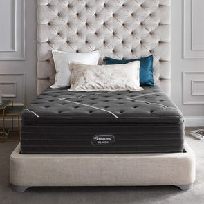 Queen Simmons Beautyrest Black C Class Plush Pillow Top 16 Inch Mattress + FREE $300 Visa Gift Card