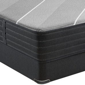 Queen Simmons Beautyrest Black Hybrid X Class Plush 13.5 Inch Mattress + FREE $300 Visa Gift Card