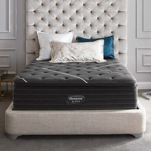 Queen Simmons Beautyrest Black K Class Firm Pillow Top 17.5 Inch Mattress + FREE $300 Visa Gift Card