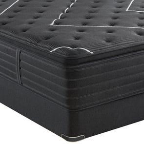 "Simmons Beautyrest Black K Class Ultimate Plush Pillow Top 18 Inch Queen Mattress Only OVML022019 - Overstock Model ""As-Is"""