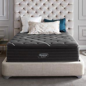 Queen Simmons Beautyrest Black K Class Ultimate Plush Pillow Top 18 Inch Mattress + FREE $300 Visa Gift Card