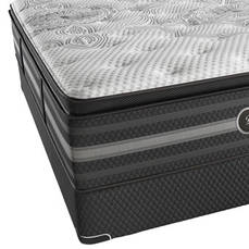 Cal King Simmons Beautyrest Black Katarina Plush Pillow Top Mattress