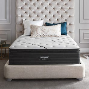 Queen Simmons Beautyrest Black L Class Plush Pillow Top 15.75 Inch Mattress + FREE $300 Visa Gift Card