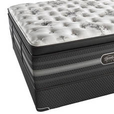 King Simmons Beautyrest Black Sonya Luxury Firm Pillow Top Mattress + FREE $100 Gift Card