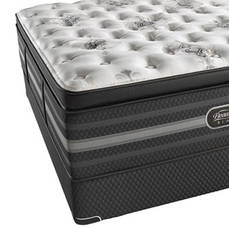 Simmons Beautyrest Black Tatiana Ultimate Plush Pillow Top Queen Mattress Only  SDMB041983 - Scratch and Dent Model ''As-Is''