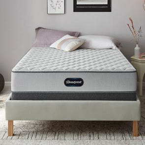 Full XL Simmons Beautyrest BR Foam Firm 5.25 Inch Mattress