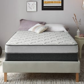 Full XL Simmons Beautyrest BR Foam Medium 7.5 Inch Mattress