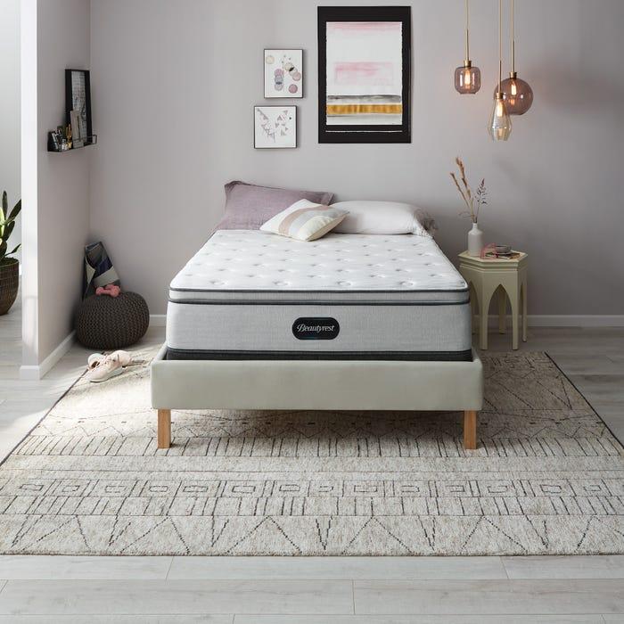 2019年新款 Queen席夢思Beautyrest BR800舒適層獨立筒床墊 (4.5號)Beautyrest BR800 Medium Pillow Top