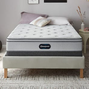 Full XL Simmons Beautyrest BR800 Plush Euro Top Mattress