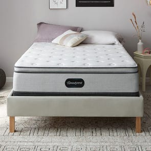 Full XL Simmons Beautyrest BR800 Plush Pillow Top 13.5 Inch Mattress