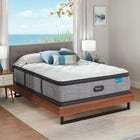 King Simmons Beautyrest Harmony Lux HLC-1000 Plush Pillow Top 15.75 Inch Mattress