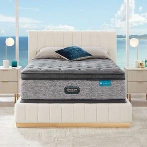 Queen Simmons Beautyrest Harmony Lux HLD-2000 Medium Pillow Top 17.25 Inch Mattress