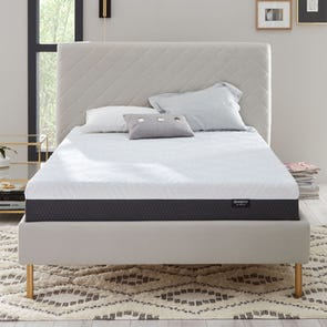 King Simmons Beautyrest Hybrid BR800-X10 Bed In A Box 10 Inch Medium Mattress