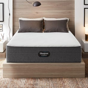 Cal King Simmons Beautyrest Hybrid Level 1 BRX1000-C Plush 13 Inch Mattress
