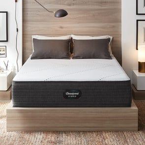 Queen Simmons Beautyrest Hybrid Level 1 BRX1000-IP Medium 13.5 Inch Mattress
