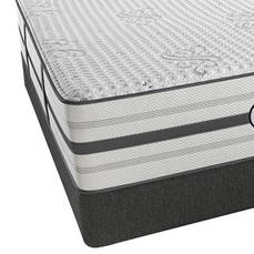 Queen Simmons Beautyrest Platinum Hybrid Tyson Luxury Firm Mattress