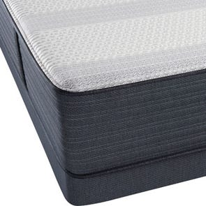 Queen Simmons Beautyrest Platinum Hybrid Vanity III Firm Mattress