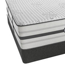 """Simmons Beautyrest Platinum Hybrid Vanity Plush Queen Mattress Only SDMB111846 - Scratch and Dent Model """"As-Is"""""""