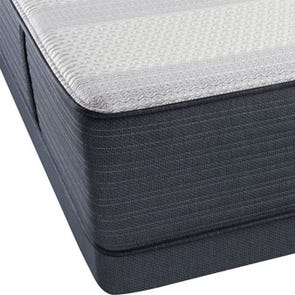 Queen Simmons Beautyrest Platinum Hybrid Warrior III Lux Firm Mattress