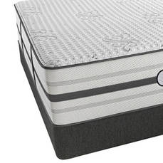 Queen Simmons Beautyrest Platinum Hybrid Warrior Ultra Plush Mattress