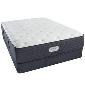 Queen Simmons Beautyrest Platinum Jaycrest Plush 12.8 Inch Mattress