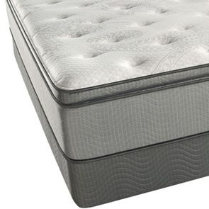 King Simmons Beautyrest Recharge 13 Inch Innerspring Plush Pillow Top Mattress