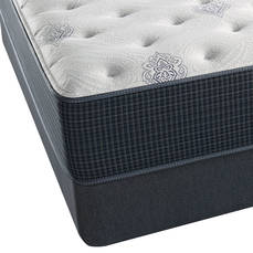 King Simmons Beautyrest Silver Adda III Plush 11.5 Inch Mattress