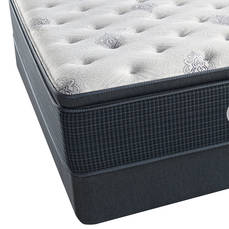 Full Simmons Beautyrest Silver Kenosha Place III Luxury Firm Pillow Top Mattress with FREE Box Spring