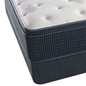 King Simmons Beautyrest Silver Kenosha Place III Plush Euro Top Mattress