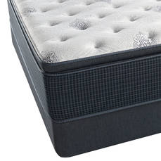 Queen Simmons Beautyrest Silver Kenosha Place III Plush Pillow Top Mattress