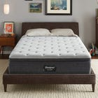 King Simmons Beautyrest Silver Level 1 BRS900 Medium Euro Top 13 Inch Mattress