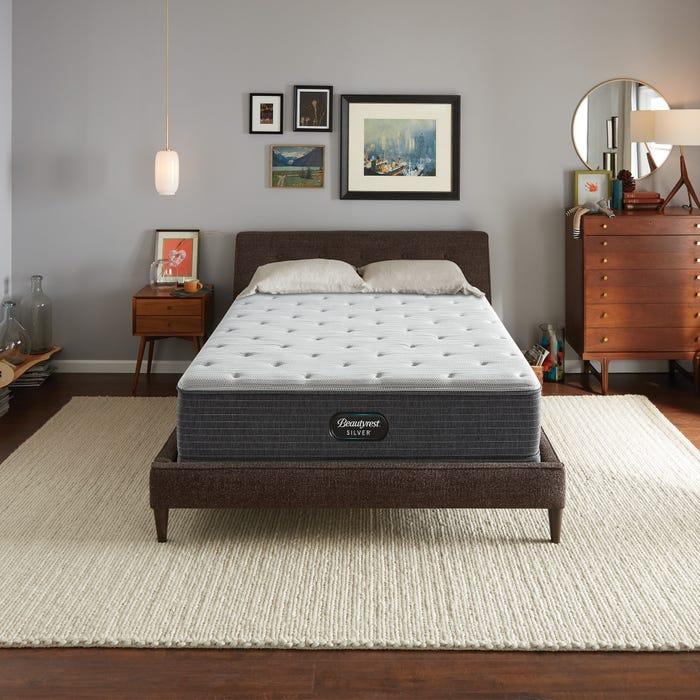 2019年新款 Queen席夢思銀標BRS900獨立筒床墊 (4號)軟硬適中稍偏硬 美國代購席夢思