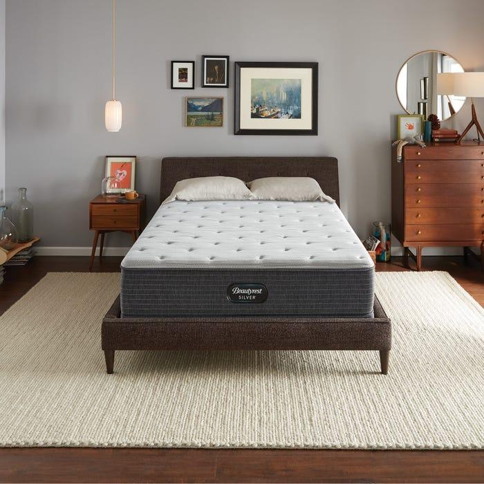 2019年新款Queen 席夢思銀標BRS900獨立筒床墊 (5號)軟硬適中 美國代購席夢思