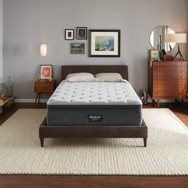 Queen Simmons Beautyrest Silver Kenosha Place 4 Plush Pillow Top 14 75 Inch Mattress