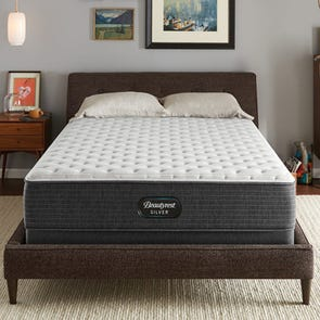 Full XL Simmons Beautyrest Silver Lydia Manor 4 Extra Firm 13.75 Inch Mattress
